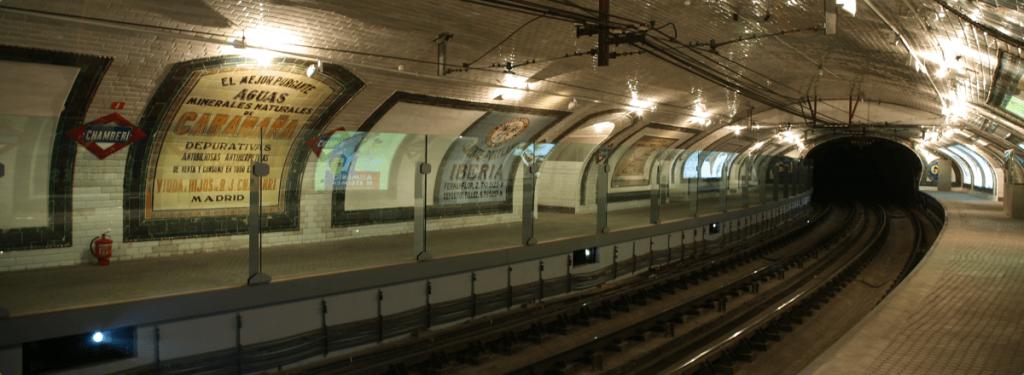 Museo Metro de Madrid. Museos gratis de Madrid.